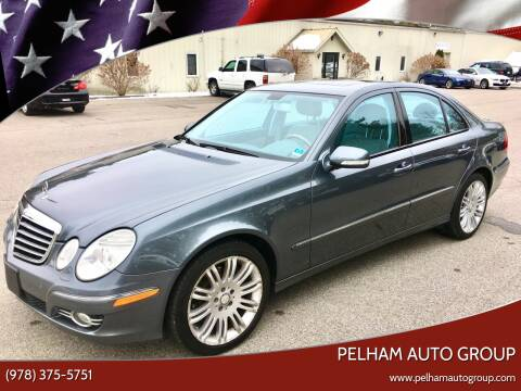 2008 Mercedes-Benz E-Class for sale at Pelham Auto Group in Pelham NH