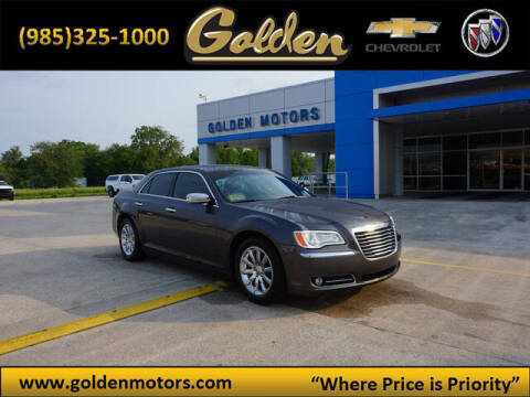 2013 Chrysler 300 for sale at GOLDEN MOTORS in Cut Off LA