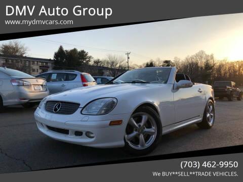 2001 Mercedes-Benz SLK for sale at DMV Auto Group in Falls Church VA