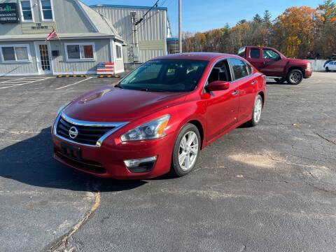 2014 Nissan Altima for sale at Irving Auto Sales in Whitman MA