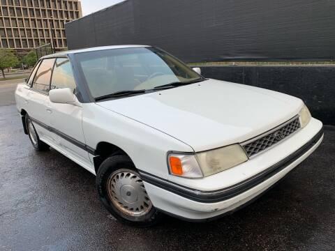 1991 Subaru Legacy for sale at McManus Motors in Wheat Ridge CO
