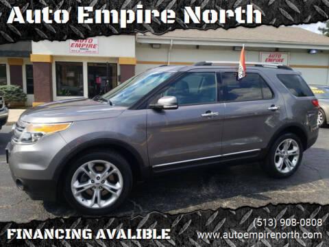 2013 Ford Explorer for sale at Auto Empire North in Cincinnati OH