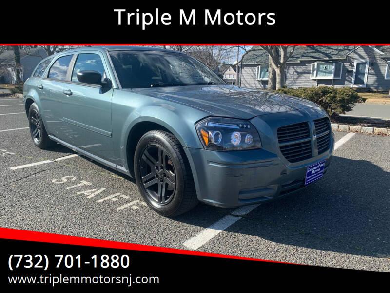 2006 Dodge Magnum for sale at Triple M Motors in Point Pleasant NJ
