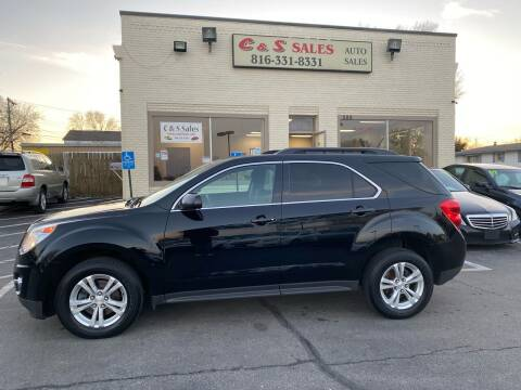 2015 Chevrolet Equinox for sale at C & S SALES in Belton MO