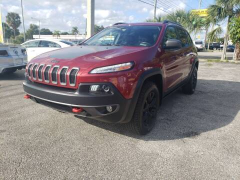2015 Jeep Cherokee for sale at Bargain Auto Sales in West Palm Beach FL