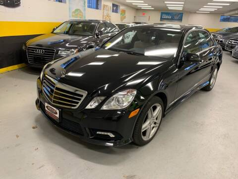 2011 Mercedes-Benz E-Class for sale at Newton Automotive and Sales in Newton MA
