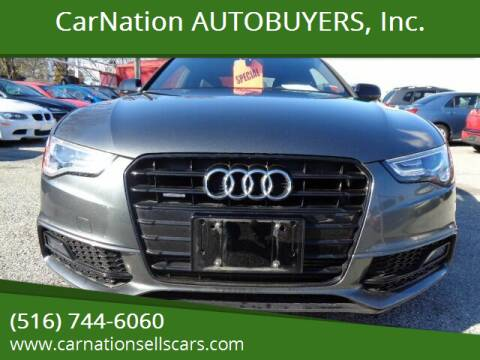 2015 Audi A5 for sale at CarNation AUTOBUYERS, Inc. in Rockville Centre NY