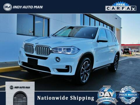 2017 BMW X5 for sale at INDY AUTO MAN in Indianapolis IN