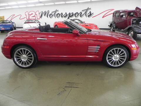 2007 Chrysler Crossfire for sale at 121 Motorsports in Mount Zion IL
