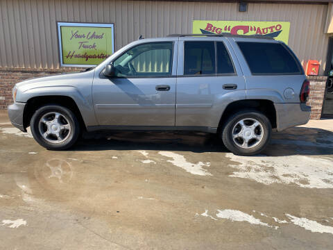 2007 Chevrolet TrailBlazer for sale at BIG 'S' AUTO & TRACTOR SALES in Blanchard OK
