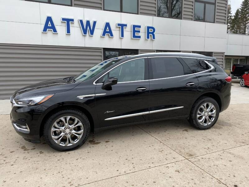2019 Buick Enclave for sale at Atwater Ford Inc in Atwater MN