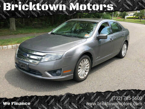 2010 Ford Fusion Hybrid for sale at Bricktown Motors in Brick NJ
