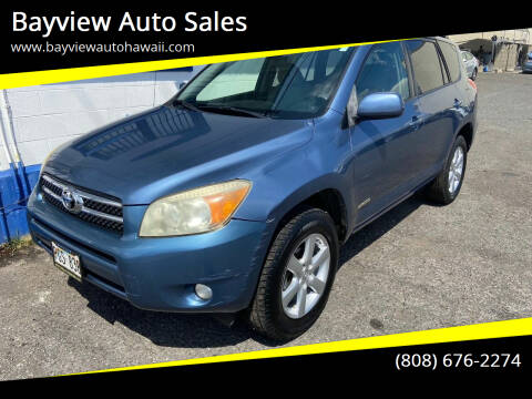 2007 Toyota RAV4 for sale at Bayview Auto Sales in Waipahu HI