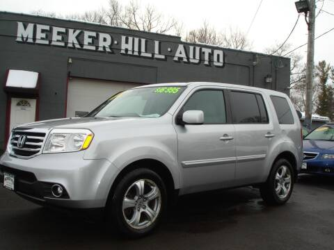 2013 Honda Pilot for sale at Meeker Hill Auto Sales in Germantown WI