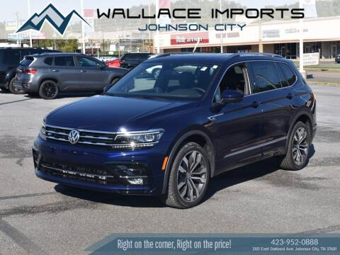 2021 Volkswagen Tiguan for sale at WALLACE IMPORTS OF JOHNSON CITY in Johnson City TN