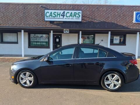 2014 Chevrolet Cruze for sale at Cash 4 Cars in Penndel PA