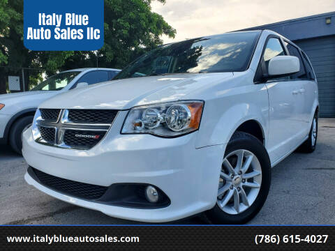 2019 Dodge Grand Caravan for sale at Italy Blue Auto Sales llc in Miami FL