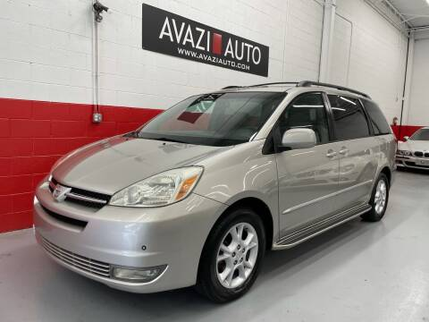 2005 Toyota Sienna for sale at AVAZI AUTO GROUP LLC in Gaithersburg MD