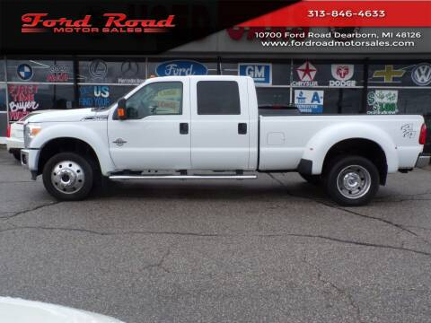 2016 Ford F-450 Super Duty for sale at Ford Road Motor Sales in Dearborn MI