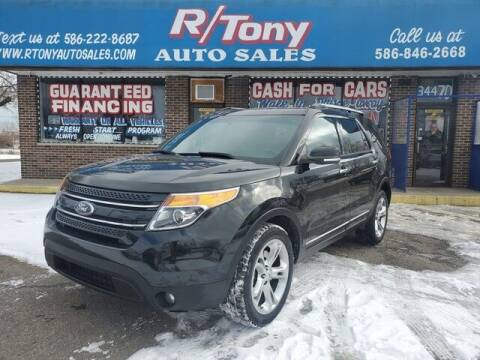 2014 Ford Explorer for sale at R Tony Auto Sales in Clinton Township MI
