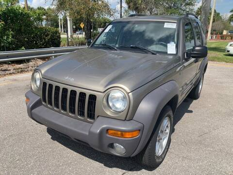 2004 Jeep Liberty for sale at L G AUTO SALES in Boynton Beach FL