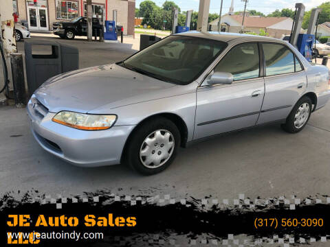 1998 Honda Accord for sale at JE Auto Sales LLC in Indianapolis IN