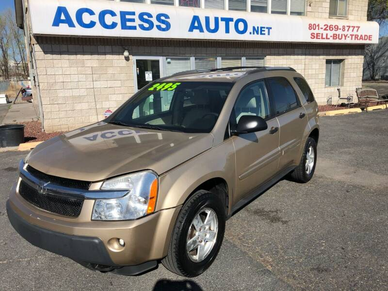 2005 Chevrolet Equinox for sale at Access Auto in Salt Lake City UT