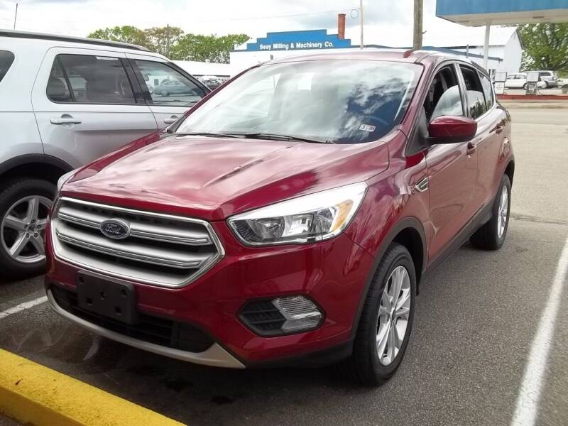 2019 Ford Escape for sale at Gilliam Motors Inc in Dillwyn VA