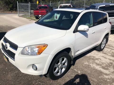 2011 Toyota RAV4 for sale at Central Automotive in Kerrville TX