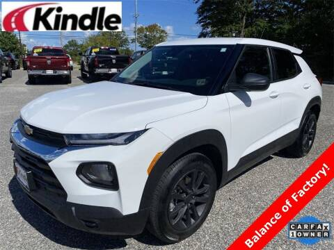 2021 Chevrolet TrailBlazer for sale at Kindle Auto Plaza in Cape May Court House NJ