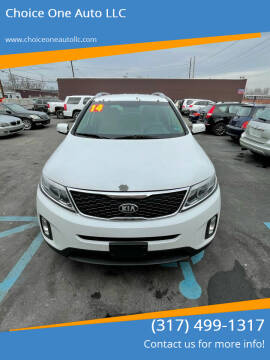 2014 Kia Sorento for sale at Choice One Auto LLC in Beech Grove IN