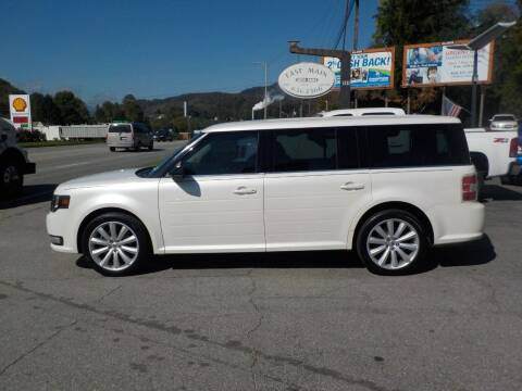 2013 Ford Flex for sale at EAST MAIN AUTO SALES in Sylva NC
