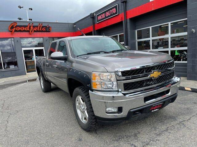 2012 Chevrolet Silverado 2500HD for sale at Goodfella's  Motor Company in Tacoma WA