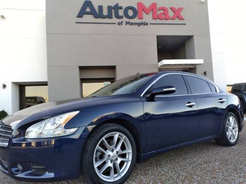 2011 Nissan Maxima for sale at AutoMax of Memphis - Darrell James in Memphis TN