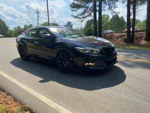 2016 Nissan Maxima for sale at THE AUTO FINDERS in Durham NC