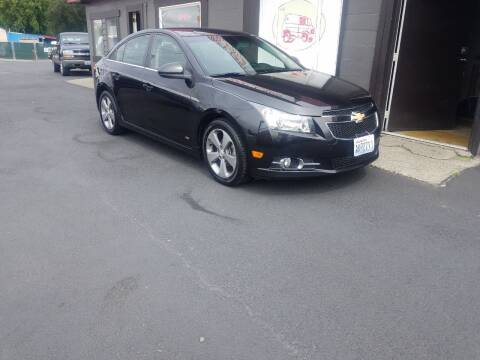 2011 Chevrolet Cruze for sale at Bonney Lake Used Cars in Puyallup WA