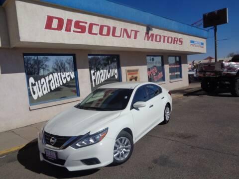 2017 Nissan Altima for sale at Discount Motors in Pueblo CO