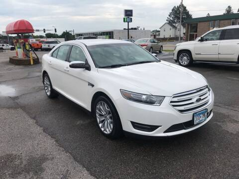 2015 Ford Taurus for sale at Carney Auto Sales in Austin MN