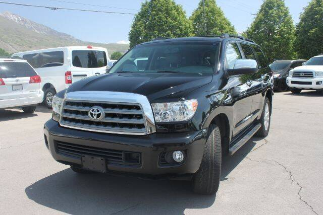 2013 Toyota Sequoia for sale at REVOLUTIONARY AUTO in Lindon UT