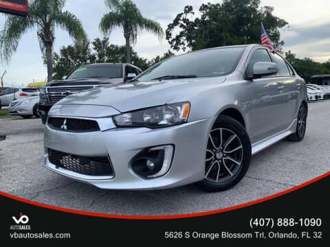 2017 Mitsubishi Lancer for sale at V & B Auto Sales in Orlando FL