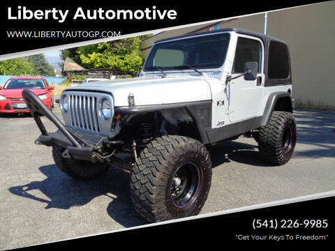 2005 Jeep Wrangler for sale at Liberty Automotive in Grants Pass OR