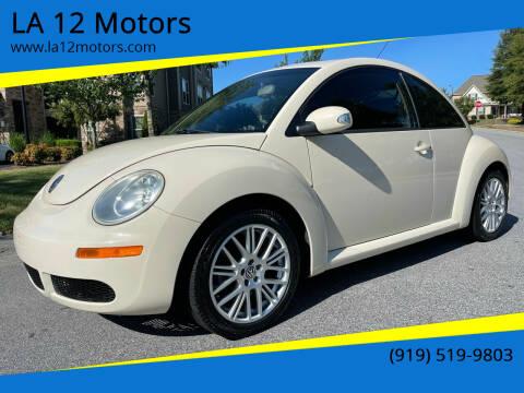 2006 Volkswagen New Beetle for sale at LA 12 Motors in Durham NC