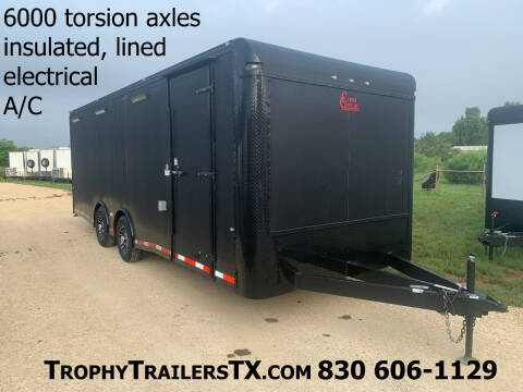 2020 CARGO CRAFT 8.5X24 AUTO CARRIER for sale at Trophy Trailers in New Braunfels TX
