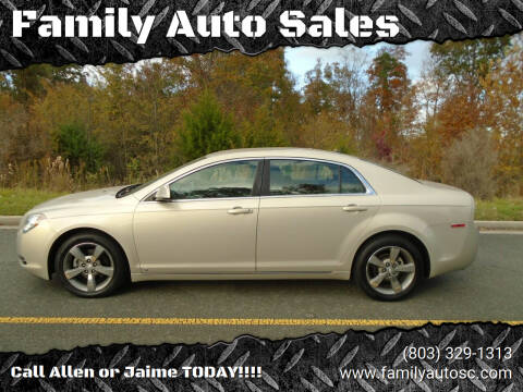 2009 Chevrolet Malibu for sale at Family Auto Sales in Rock Hill SC