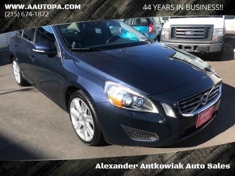 2011 Volvo S60 for sale at Alexander Antkowiak Auto Sales in Hatboro PA