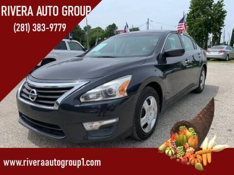2015 Nissan Altima for sale at Rivera Auto Group in Spring TX