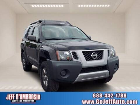 2012 Nissan Xterra for sale at Jeff D'Ambrosio Auto Group in Downingtown PA