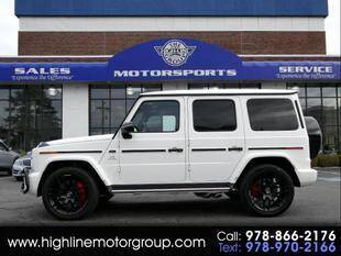2019 Mercedes-Benz G-Class for sale at Highline Group Motorsports in Lowell MA