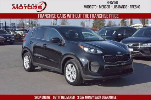 2019 Kia Sportage for sale at Choice Motors in Merced CA