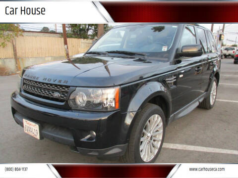 2012 Land Rover Range Rover Sport for sale at Car House in San Mateo CA